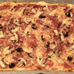 Pizza mit Siegfried-Teig