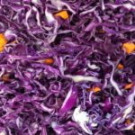 Sauerkraut auf Rotkohl-Basis